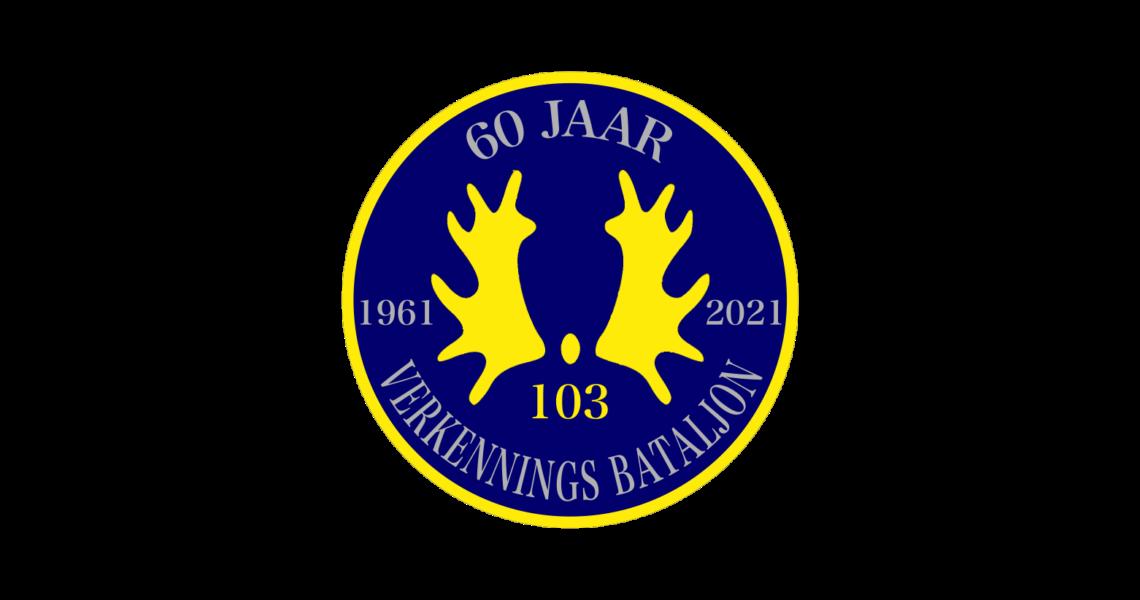 Badge 103 verkenningsbat versie 5 Jub.