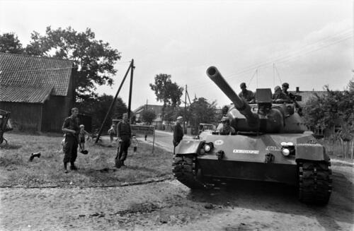 103 Verkbat diverse opnamen AMX Leopard I en II 1