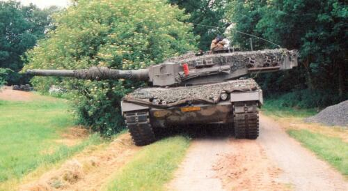 103 Verkbat diverse opnamen AMX Leopard I en II 4
