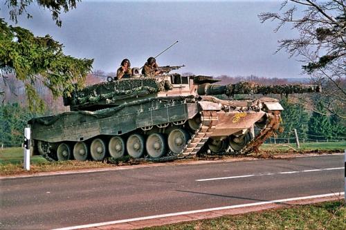 103 Verkbat diverse opnamen AMX Leopard I en II 5