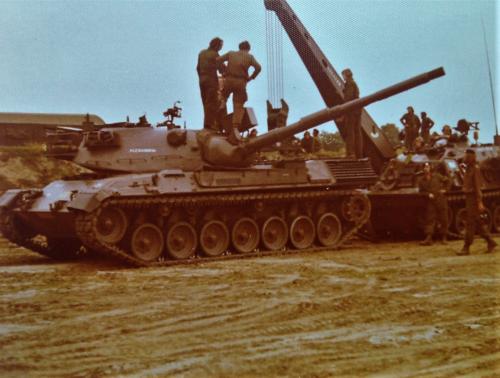 103 Verkbat diverse opnamen AMX Leopard I en II 6