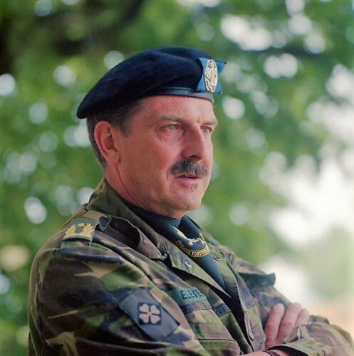 11a. G.H. Eleveld hier als Brigade Generaal.