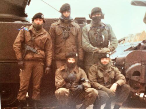 13. 1979 1980 A Esk 103 Verkbat 79 4 Schietserie. Zie verder de bijlage. Fotoalbum John Emmen 14 1 2