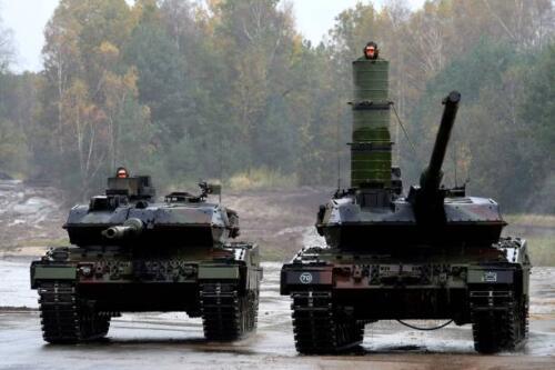 17. Opnamen van de Leopard II 1