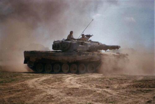 17. Opnamen van de Leopard II 10