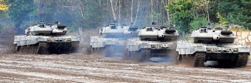 17. Opnamen van de Leopard II 2
