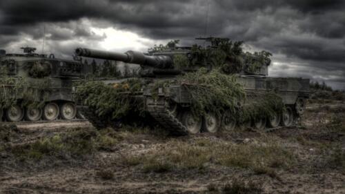 17. Opnamen van de Leopard II 3
