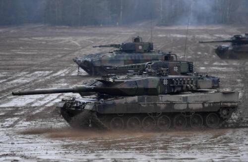 17. Opnamen van de Leopard II 4