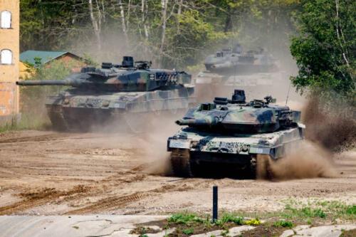 17. Opnamen van de Leopard II 5