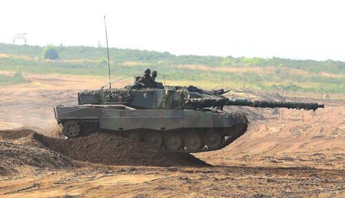 17. Opnamen van de Leopard II 8