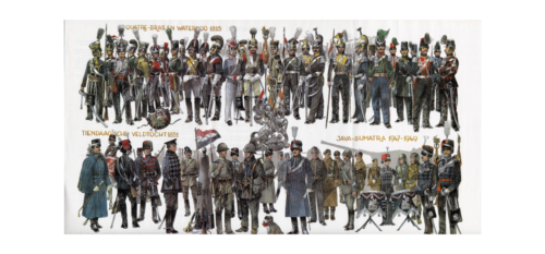 1815 2000 Uniformen van de Nederlandse cavalerie