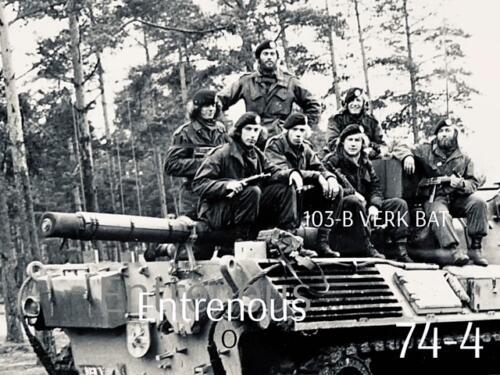 1974-1975 B-Esk li 74-4 103 Verkbat; Oefeningen en kazerneleven. Inzender Frans Homminga  (20)