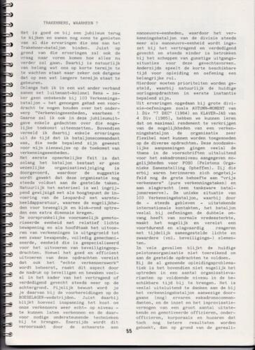 1986 'Contact, wacht uit'... Kroniek van 25 jaar 103 Verkenningsbataljon 55