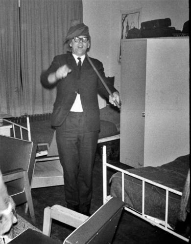 1966-1967 A-Esk 103 Verkbat; Het leven op de legeringskamers. Uit het fotoarchief van Jan Stoffels  (2)