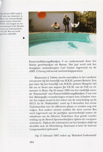 1961 - 2002 Par 31 'De Trakehners' Bron boek 'Huzaren van Boreel' uitg. 2003 auteur lkol A. Rens 6