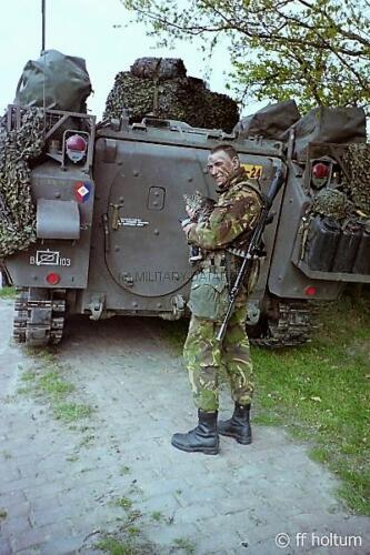1986-05 B-Esk 103 Verkbat; FTX Oefening Galerie Freese Holtum-Marsch. Hoya-Asendorf (4)