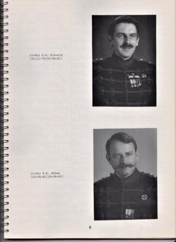 1986 'Contact, wacht uit'... Kroniek van 25 jaar 103 Verkenningsbataljon 9