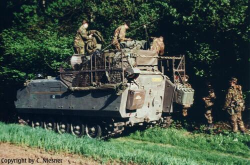 1998 103 Verkbat met Aufklärungsbataillon 3 uit Lüneburg; Oef Recce Alone Omgeving Celle (Inzender C Niesner) (16)
