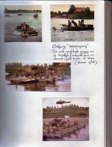 1967-07 A-Esk 103 Verkbat Oef Wesersprong; Uit het fotoboek van de Tlnt RRRE Meeder
