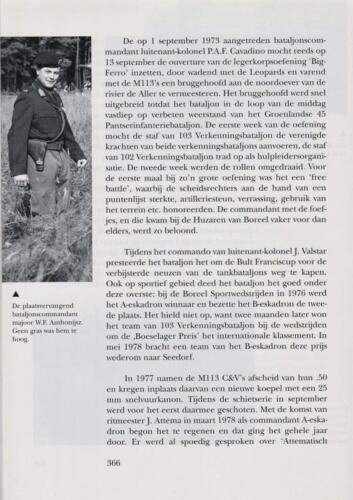 1961 - 2002 Par 31 'De Trakehners' Bron boek 'Huzaren van Boreel' uitg. 2003 auteur lkol A. Rens 8