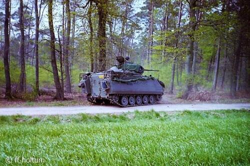 1986-05 B-Esk 103 Verkbat; FTX Oefening Galerie Freese Holtum-Marsch. Hoya-Asendorf (18)