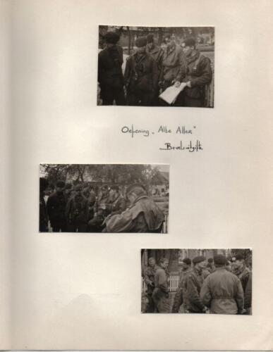 1967 A-Esk 2e Pel 103 Verkbat; Oef Wesersprong-Alte Aller Bevelsuitgifte  PC Tlnt R Meeder. Fotoboek  (1)