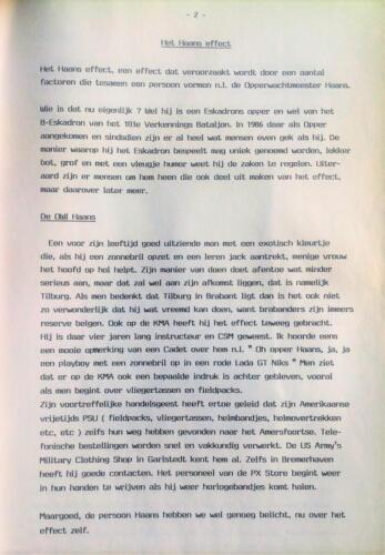 1986-1988 B-Esk Het Owi Pedro Haans effect (Para los Ninos) team Wmr I Fred Kerkhof 5