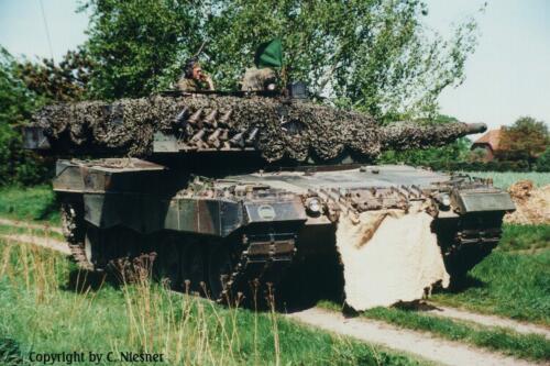 1998 103 Verkbat met Aufklärungsbataillon 3 uit Lüneburg; Oef Recce Alone Omgeving Celle (Inzender C Niesner) (23)