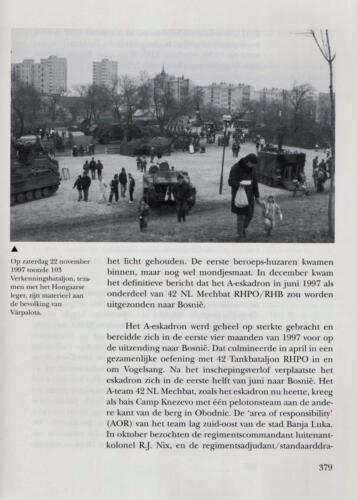 1961 - 2002 Par 31 'De Trakehners' Bron boek 'Huzaren van Boreel' uitg. 2003 auteur lkol A. Rens 21