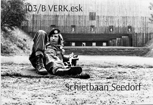 1974-1975 B-Esk li 74-4 103 Verkbat; Oefeningen en kazerneleven. Inzender Frans Homminga  (15)