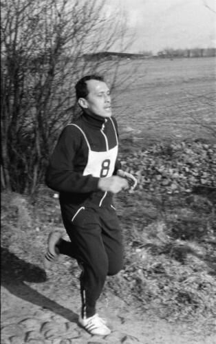 1966-1967 A-Esk 103 Verkbat; Lopen, lopen en lopen...  Uit het fotoarchief van Jan Stoffels  (1)