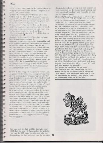 1986 'Contact, wacht uit'... Kroniek van 25 jaar 103 Verkenningsbataljon 37