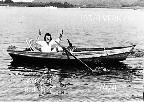 1974-1975 B-Esk li 74-4 103 Verkbat; Weekend in Bederkesa. Inzender Frans Homminga  (1)