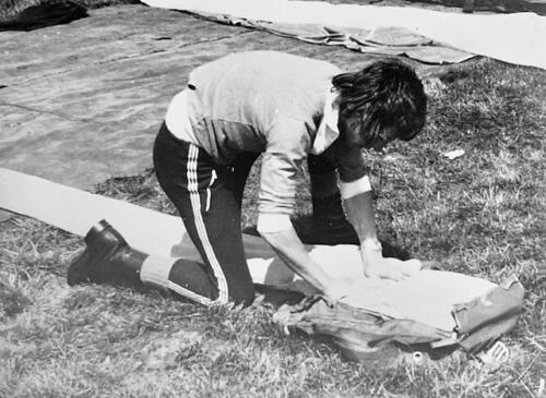 1974-1975 B-Esk 103 Verkbat; Para-opleiding Seedorf. Inzender Frans Homminga  (2)