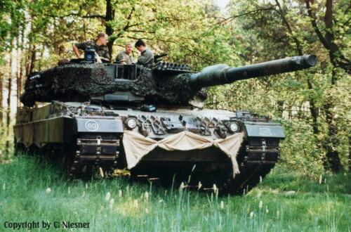 1998 103 Verkbat met Aufklärungsbataillon 3 uit Lüneburg; Oef Recce Alone Omgeving Celle (Inzender C Niesner) (10)
