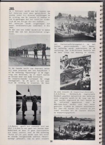 1986 'Contact, wacht uit'... Kroniek van 25 jaar 103 Verkenningsbataljon 30