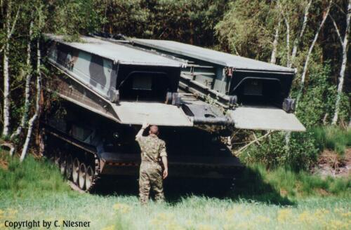 1998 103 Verkbat met Aufklärungsbataillon 3 uit Lüneburg; Oef Recce Alone Omgeving Celle (Inzender C Niesner) (15)