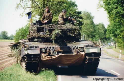 1998 103 Verkbat met Aufklärungsbataillon 3 uit Lüneburg; Oef Recce Alone Omgeving Celle (Inzender C Niesner) (22)