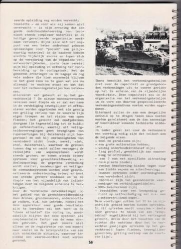 1986 'Contact, wacht uit'... Kroniek van 25 jaar 103 Verkenningsbataljon 56