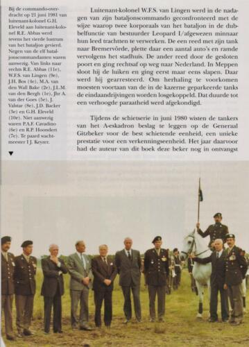 1961 - 2002 Par 31 'De Trakehners' Bron boek 'Huzaren van Boreel' uitg. 2003 auteur lkol A. Rens 10