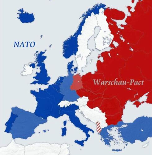 1955 1990 Situatieafbeeldingen tijdens de Koude Oorlog 1