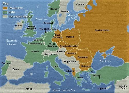 1955 1990 Situatieafbeeldingen tijdens de Koude Oorlog 4