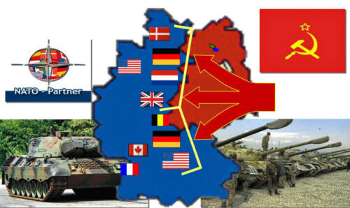 1955 1990 Verdedigingsvakverdeling tijdens de Koude Oorlog 1