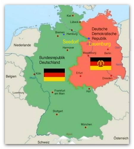 1955 1990a Situatieafbeelding Koude Oorlog Blauwe stippen Seedorf en Lauenburg actiegebied 103