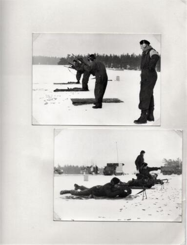 1971-1972 A-Esk 103 Verkbat; Schietserie 72-1 Hohne. Uit het fotoboek van de Ritm R Meeder  (3)
