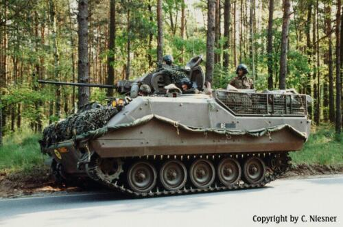 1998 103 Verkbat met Aufklärungsbataillon 3 uit Lüneburg; Oef Recce Alone Omgeving Celle (Inzender C Niesner) (17)