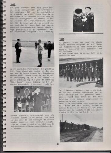 1986 'Contact, wacht uit'... Kroniek van 25 jaar 103 Verkenningsbataljon 31