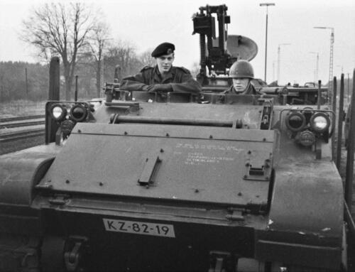 1966-1967 A-Esk 103 Verkbat; Trein laden of ontladen. Uit het fotoarchief van Jan Stoffels  (9)