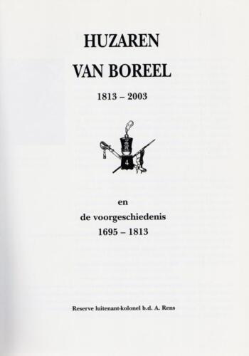 1961 - 2002 Par 31 'De Trakehners' Bron boek 'Huzaren van Boreel' uitg. 2003 auteur lkol A. Rens 2