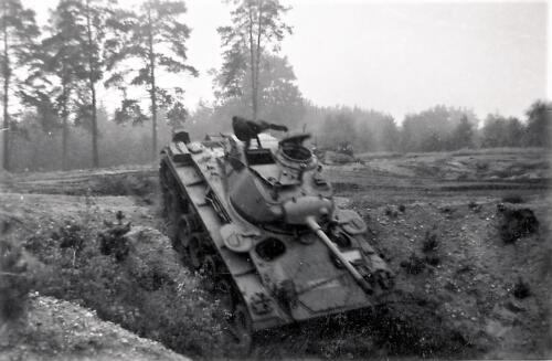 1961 SSV Esk 103 Verkbat 10. Capriolen met de Chaffee tank. Inzender W. Kunst 2